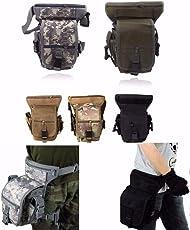 CAMTOA Tactical Hip Bag Hüfttasche Beintasche,Sport Taktische Airsoft Militär Tropfen Bein Schenkel Bag Dienstprogramm Gürtel Tasche Beinbeute