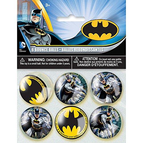 Paket von 12große Kunststoff Batman Goodie Staubbeutel Batman Birthday Party Supplies