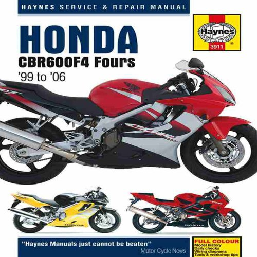 Honda CBR600F4 Service and Repair Manual: 1999 to 2006 (Haynes Service and Repair Manuals)