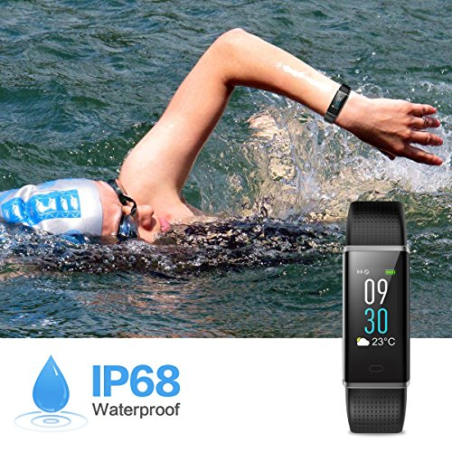 Zoom IMG-3 hetp fitness tracker impermeabile ip68