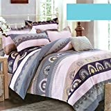 Dream Weaverz Double Size (90 By 100 Inches) Digital Printed Bedsheet 2018 Collection - Multi Color