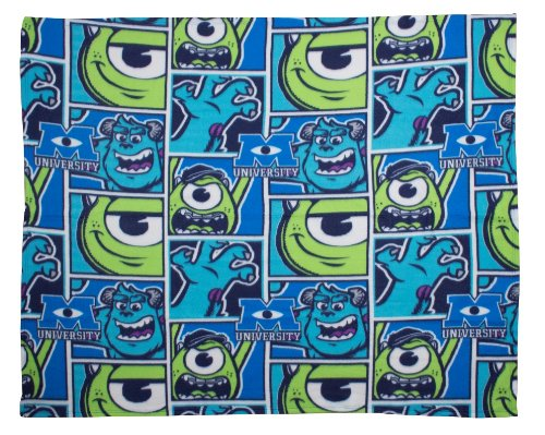 ld Monsters University Rotary Fleece Decke, Mehrfarbig ()