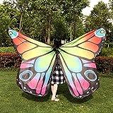 Oyedens Kind Kinder Jungen Mädchen Karneval Kostüm schmetterlingsflügel Kostüm Faschingskostüme Butterfly Wing Cape Kimono Flügel Schal Cape Tuch