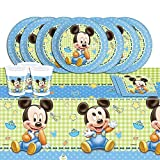 Mickey Mouse Disney Completo, para Kit de Fiesta de Baby Shower,