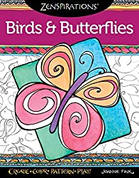 [(Zenspirations Coloring Book Birds & Butterflies : Create, Color, Pattern, Play!)] [By (author) Joanne Fink] published on (October, 2015)