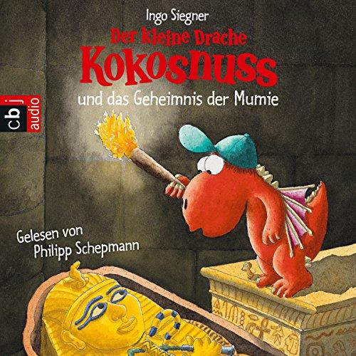 Buchseite und Rezensionen zu 'Der kleine Drache Kokosnuss und das Geheimnis der Mumie' von Ingo Siegner
