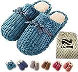 Pantofole Pantoufles d'intérieur Hommes et femmes Mousse à mémoire antiadhésive confortable Mousse légère Doublure en peluche Lavable Coton chaud Maison Maison Lijeer