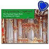 Das praktische Orgelbuch Band 2 - Orgel Noten - Eine Sammlung leichter Vor-, Zwischen- und Nachspiele - mit bunter herzförmiger Notenklammer