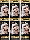 Jerome Russell BBlonde Maximum Colour Toner Silver (6 PACK)