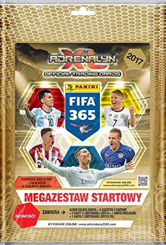 Preisvergleich Produktbild Panini FIFA 365 2017 Adrenalyn XL Trading Card Starter Pack