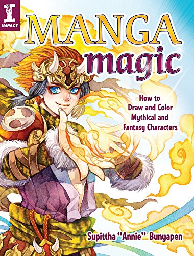 Manga Magic: How to Draw and Color Mythical and Fantasy Characters