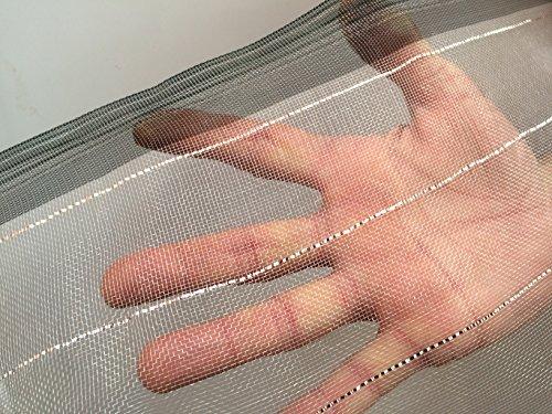 Tissu maillé pour légumes 3 m de large, maille fine de 0,9 mm. 3mx 20m