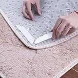 Teppich Greifer erthome Anti Rutsch Matte stop teppich unterlage, 8 Stücke Teppich Pad Rutschfeste Aufkleber Antirutschmatte Pads Anti Slip (Weiß)
