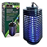 GardenKraft 20480 Electric UV Indoor Insect Killer - Black