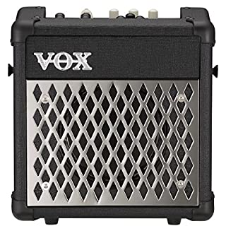 VOX Mini5 Rhythm (Chrome) 5-watt Guitar & Mic Amplifier w/ Drum Patterns & Effects