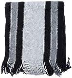 Blyss Unisex Mufflers (60Black/Grey, Bla...