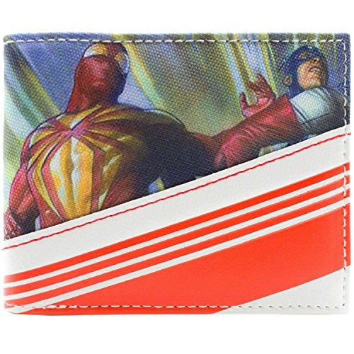 Marvel Streifen Mehrfarbig Portemonnaie ()