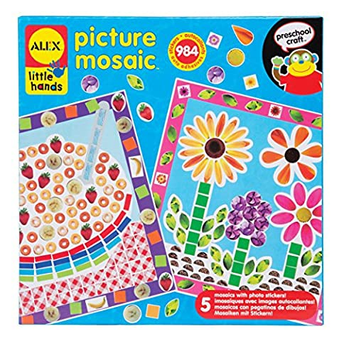 Alex Toys Early Learning Picture Mosaic Little Hands