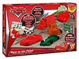 Craze 54261 - Magic Sand, Disney Cars Racing Set inklusiv Zubehör, 800 g, rot