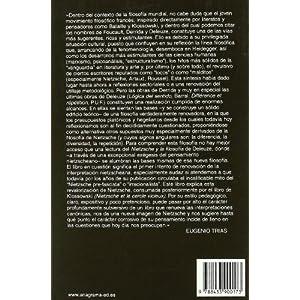 Nietzsche y la filosofía (Argumentos Anagrama)