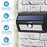 Solar Lights, Mpow 20 LED  Motion Sensor Security Lights, Home Security Solar Lights 3-in-1 Wireless Weatherproof Outside Sensor Lights for Pathway, Garden, Pool, Walkway, Driveway Bild 5