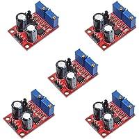 iHaospace Lot de 5 modules de fréquence cardiaque NE555 Pulse Frequency Wave Signal Générateur pour moteur Stepper Driver