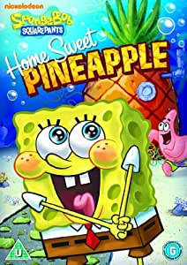 spongebob squarepants home sweet pineapple dvd amazon