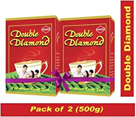 Duncans Double Diamond Premium Ctc Tea- 250G (Pack Of 2)