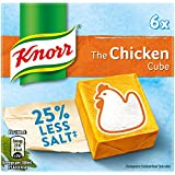 Knorr Reduced Salt The Chicken Cubes 6 x 9g (54g)