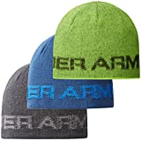 Under Armour Men's Word Mark Ribbed Winter Beanie