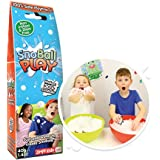 SnoBall Play from Zimpli Kids, Turns Water into Snow, Artificial Snow for Kids, Children's Sensory and Outdoor Play Toy, Sens