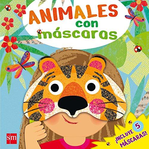 Animales con máscaras por Rebecca Clunes