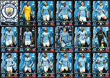 Picture Of MATCH ATTAX 2018/19 18/19 MANCHESTER CITY FULL 18 CARD TEAM SET - MAN CITY