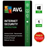 AVG Internet Security 1 PC 1 Year Email Delivery in 24 hours- No CD