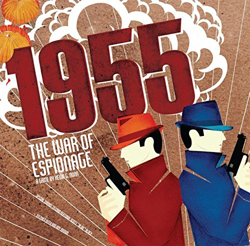 Ape Games ape00800-de Tablero 1955: War of Espionage