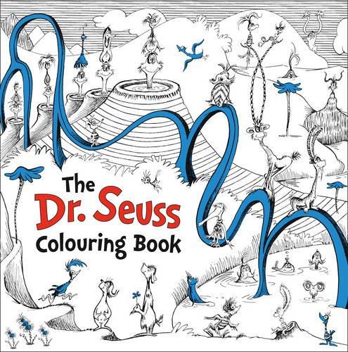 Dr. Seuss colouring book. Ediz. illustrata