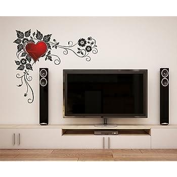 af82489d162 Buy Decals Design  Vine and Butterflies  Wall Sticker (PVC Vinyl