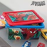 Spiderman Boîte à jouets-Taille: env. 32x 15x 23cm-Matériau de...