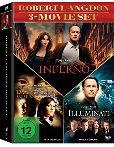 The Da Vinci Code - Sakrileg / Illuminati / Inferno (3er DVD Set)