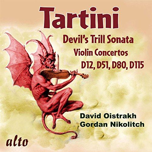 Tartini: Devil's Trill Sonata; Violin Concertos D12, D51, D80, & D115