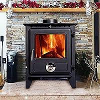 Lincsfire Reepham High Efficiency Log Burner Wood Burning WoodBurner MultiFuel Fireplace Stove