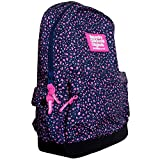 Superdry Print Edition Montana Backpack Bag Fluro Ditsy Purple