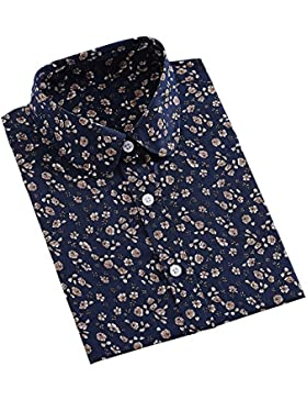 KINDOYO Donne Piegare Casual Maniche Lunghe In Camicia Top