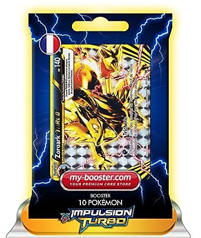ZOROARK TURBO 92/162 140PV XY08 IMPULSION TURBO - Booster de 10 cartes Pokemon francaises my-booster