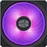 Cooler Master MasterFan SF120R RGB (MFX-B2DN-20NPC-R1): ventola PWM RGB da 120 mm, cuscinetto ad alta scorrevolezza…