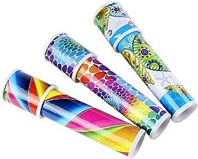 TOYMYTOY Classic Kaleidoscope Educational Toys Best Gift for Kids Children - 3pcs