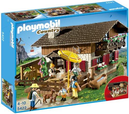 Playmobil Granja - Casa de los Alpes con varios accesorios (5422)