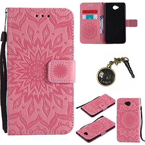 Preisvergleich Produktbild PU Silikon Schutzhülle Handyhülle Painted pc case cover hülle Handy-Fall-Haut Shell Abdeckungen für Nokia lumia 650 N650 +Staubstecker (2GG)