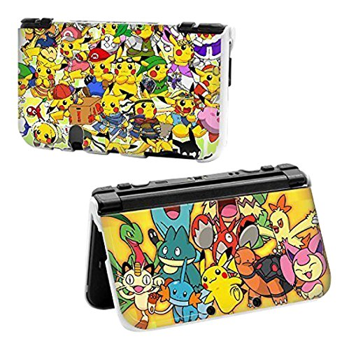 obbs-cartoon-pikachu-pokemon-world-hard-protective-case-cover-for-nintendo-new-style-3ds-xl