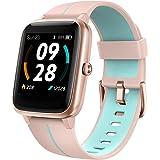 UMIDIGI Smartwatch Uwatch3 GPS, 1,3-inch waterdicht touchscreen en ingebouwde GPS-sporthorloge, fitnesstracker met slaapmonit
